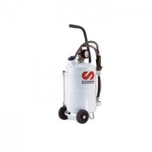 Oil Dispenser - Pressurized lubricant dispenser, with meter, 25 litres 324 010